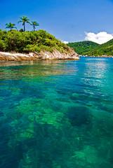 Paraty Bay (Al Santos) Tags: blue sea summer brazil praia beach brasil paraty island mar parati vero ilha pfosilver