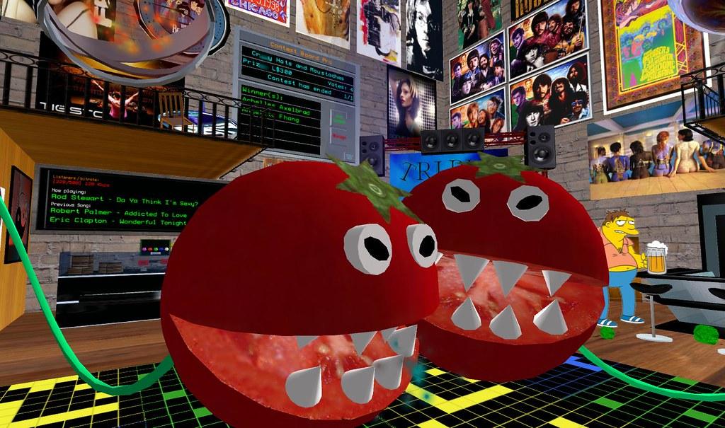 Killer Tomatoes on the Dancefloor