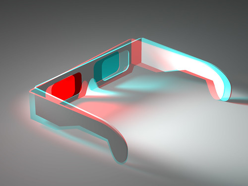 Rumor has it this year will see a lot of advances in 3-D technology. Image from Flickr.