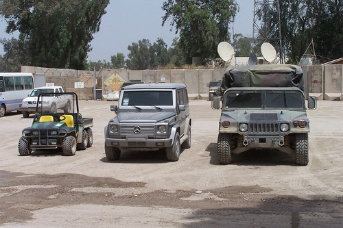 Transportation - Camp Diamondback, Mosul, Iraq
