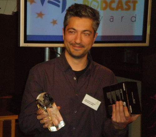 Jose Antonio Gelado - European Podcast Award