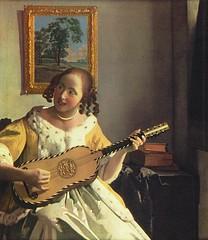 Jan Vermeer The Guitar Player