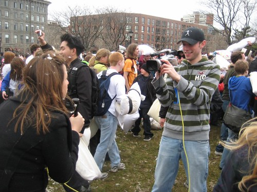 Pillow Fight Day 2009 - Boston