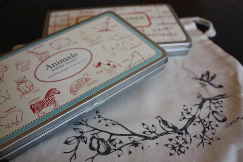 Stamps: Animals + Alphabet