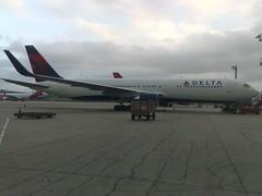 Delta com winglets em GRU