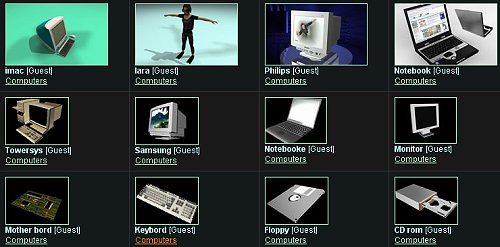 40+ Free 3D Obj Models Providers Websites