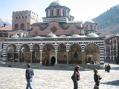 Cathedral in the Monastery (peterme) Tags: sofia monastery rila
