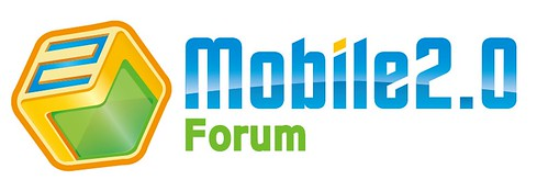 你拍�的 MOBILE2.0 FORUM LOGO。
