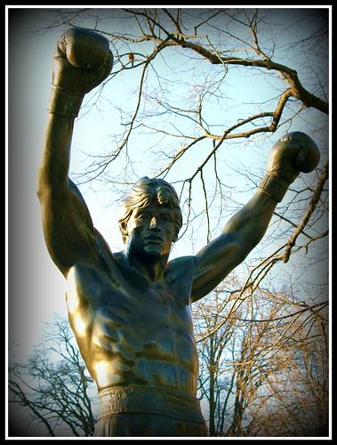 Rocky Statue in Philadelphia!