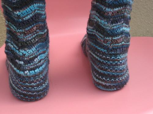 Potpurri Socks - heels