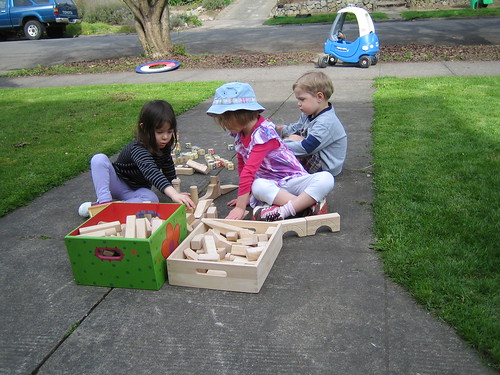 Blocks with the neighbors