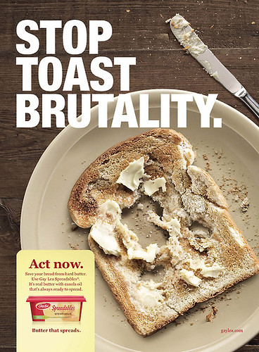 Stop Toast brutality