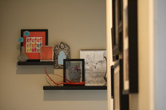 {hallway} (Perpetual*Bliss) Tags: red home spring branch floating hallway shelf decor shelves