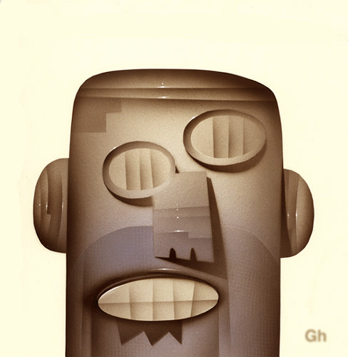 RoboHead by Gordon Hammond