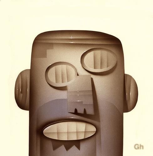 RoboHead by Gordon Hammond