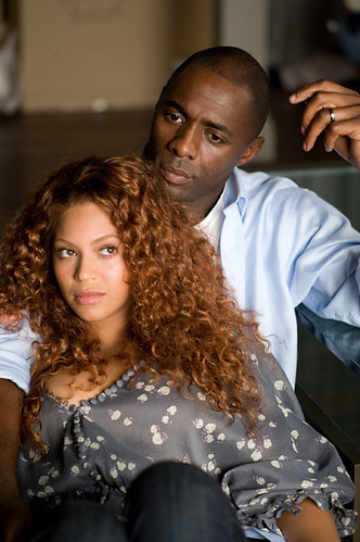 the three leads – Idris Elba and a non-singing Beyonce Knowles – POCs,