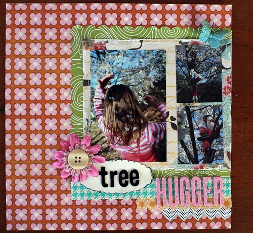 Tree Huggerm Scrapbook Club Cafe by you.