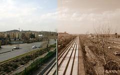 قطار شهري مشهد (Reza-ir) Tags: train iran social mashhad khorasan ايران مشهد خراسانرضوي اجتماعي عكستركيبي قطارشهري
