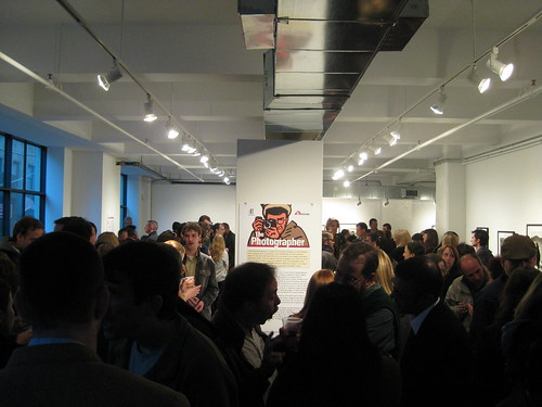 Over 260 People Showed up for the Gallery Opening of Art from THE PHOTOGRAPHER