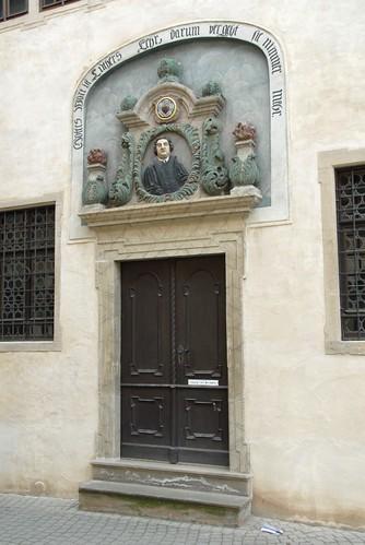 Geburtshaus Eingangstür