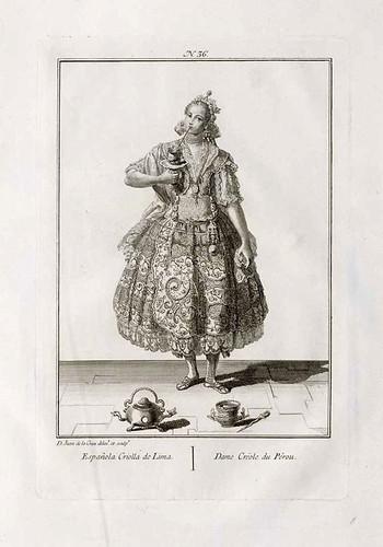 011- Española criolla de Lima 1777-1788