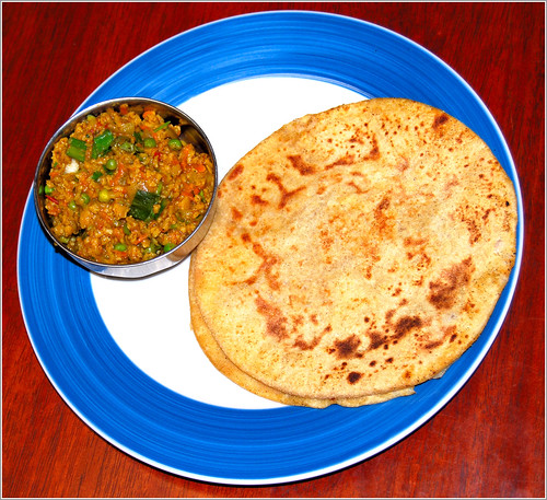 Vegan recipe for aloo paratha