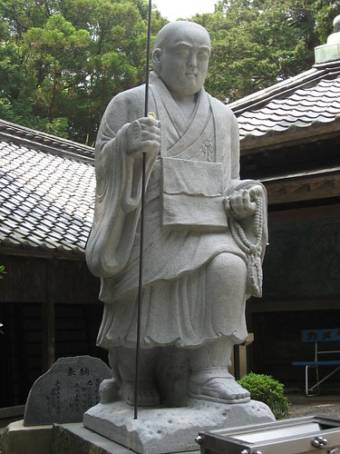 大師像(金剛頂寺)