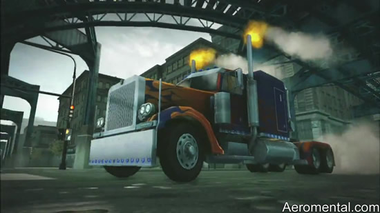 juego Transformers 2 Optimus Prime