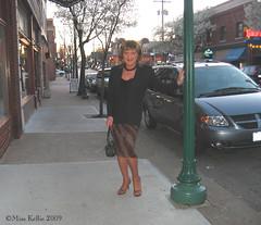 Westport Woman (Miss Kellie Keene) Tags: woman sandals skirt transgender kansascity suit miss kellie stylish strappy businesswoman careerwoman misskellie