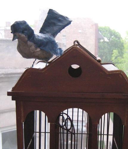 paper mache bird 2