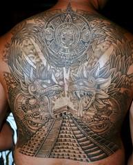 Azteca/Maya (Marco AG) Tags: tattoo ink mexico maya aztec tatuaje azteca prehispanico backtattoo