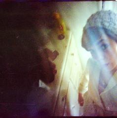 jamie by jamie (lolitanie) Tags: seattle portrait usa selfportrait film self us washington jamie kodak fremont wa jas vivitar seattlest 400nc ultrawideslim husbandsloveyourwives hlyw jamiehlyw