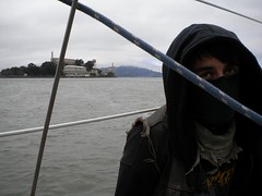(Crom.) Tags: ocean sf from water angel port scarf island bay san francisco ranger sailing escape waterfront wind piers tie down prison tragedy area hood alcatraz chilly clint mast bandana chill bandy eastwood mordor portside southron