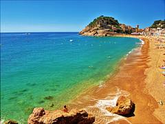 The Beach at Tossa de Mar