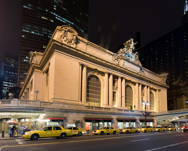 Grand Central Station at night - New York City, New York