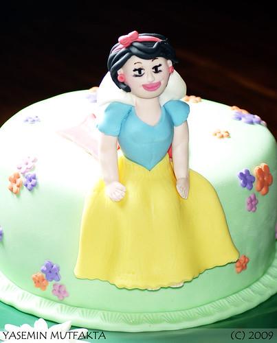 Pamuk Prenses Pastasi / Snow White Cake