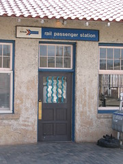 IMG_10535 (old.curmudgeon) Tags: door newmexico sign amtrak depot santafedepot 5050cy