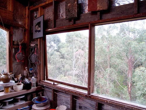 gooseneck pottery - bush view from the studio