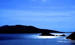 Blue-dusk (Sandra O' Callaghan) Tags: ireland light sea water dusk kerry sleahead bllue sandraocallaghancom