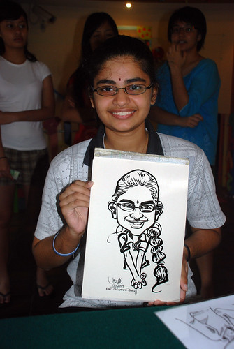 Caricature live sketching for Costa Sands Resort Day 3 - 14