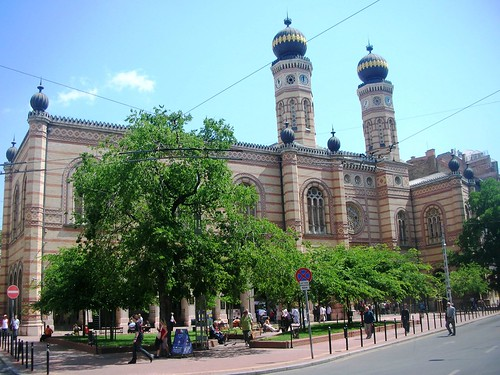 Budapest in Hungary - The Synagogue #1