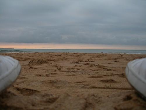 Desde la arena