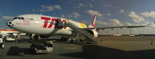 Airbus A330 TAM pronto pra copa