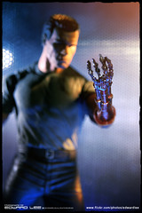 Terminator 2 : Man or Machine_2 (EdwardLee's collection) Tags: 2 canon movie toy toys actionfigure day action arnold schwarzenegger collection figure terminator judgment t2 neca t800 endoskeleton 400d edwardlees