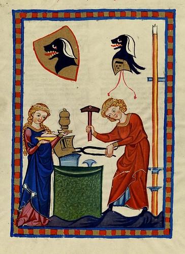 019- Hartmann von Starkengberg-Codex Manesse