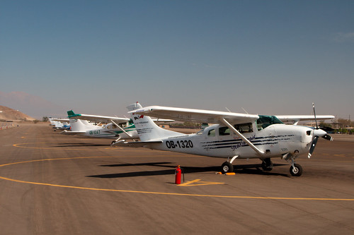 Nasca Lines - Our plane (by Christian Haugen)