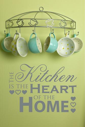 Kitschen wall art | Kitchen design and decorating ideas | Kitchen ...