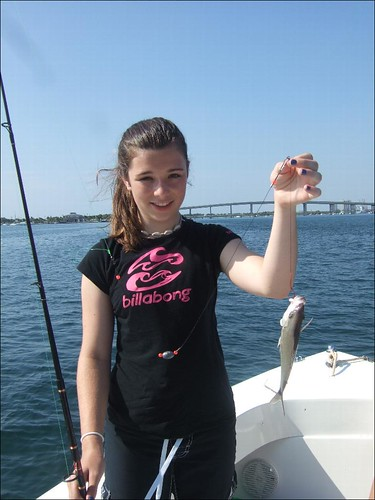 Amandas First Fish!