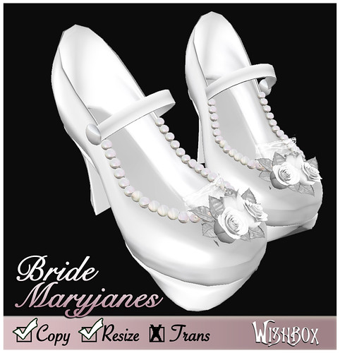 Doll Bride Maryjanes