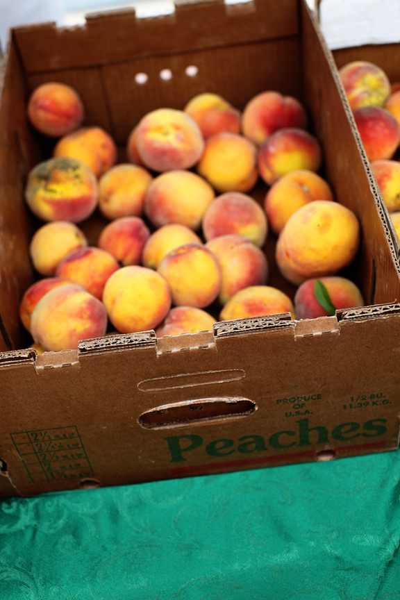 Kansas grown Peaches